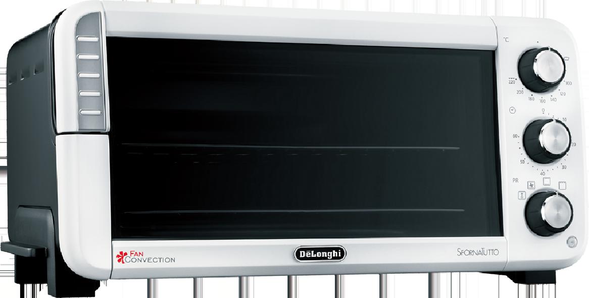 デロンギ スフォルナトゥット・クラシックコンベクションオーブンEO14902J-WN